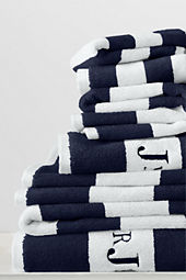 Luxe Essential Stripe 6-piece Towel Set