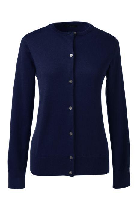 Women's Classic Supima Cardigan Sweater