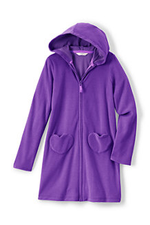 Girls' Hooded Towelling Cover-up