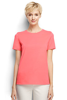 Women's Supima Short Sleeve Crew Neck Tee