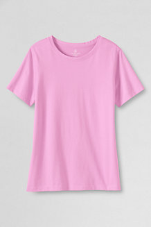 Women's Supima® Short Sleeve Crew Neck Tee
