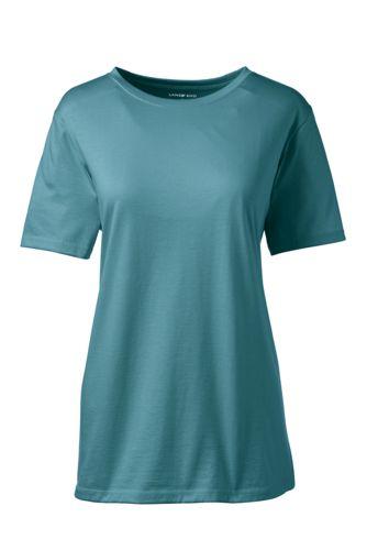 Women's Regular Supima® Short Sleeve Crew Neck Tee