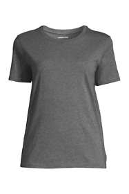 Women's Tall Relaxed Supima Cotton Short Sleeve Crewneck T-Shirt