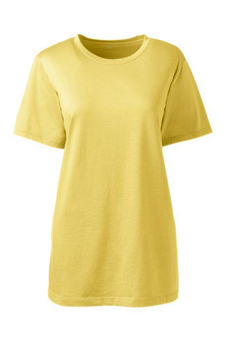 Women's Tall Relaxed Supima Cotton Short Sleeve Crewneck T-Shirt