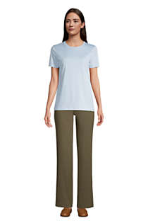 Women's Tall Relaxed Supima Cotton Short Sleeve Crewneck T-Shirt, Unknown
