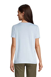 Women's Tall Relaxed Supima Cotton Short Sleeve Crewneck T-Shirt, Back