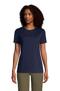 Women's Relaxed Supima Cotton Short Sleeve Crewneck T-Shirt, Front