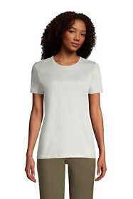 Women's Relaxed Supima Cotton Short Sleeve Crewneck T-Shirt