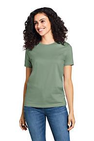 fc2b5afd149 Women s Supima Cotton Short Sleeve T-shirt - Relaxed Crewneck
