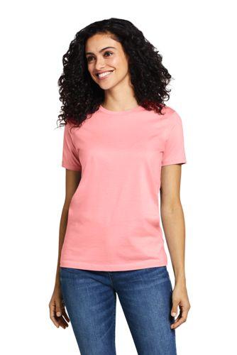 585e7d55fe1 Women s Supima Cotton Short Sleeve T-shirt - Relaxed Crewneck