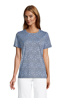 Women's Supima Short Sleeve Crew Neck T-shirt