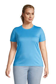 Women's Plus Size Relaxed Supima Cotton Short Sleeve Crewneck T-Shirt