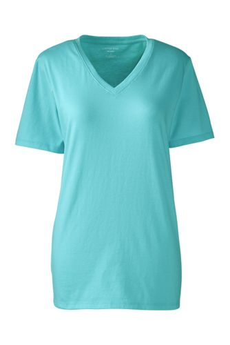 Women's Regular Supima® Short Sleeve V-neck Tee