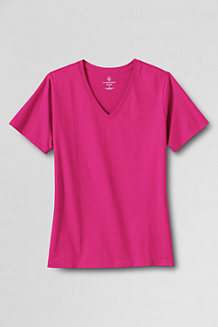 Women's Supima Short Sleeve V-neck Tee