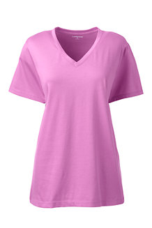 Women's Supima® Short Sleeve V-neck Tee