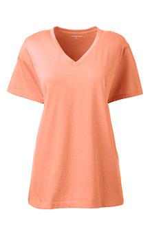 7717e922897b6c Women s Supima Short Sleeve V-neck T-shirt