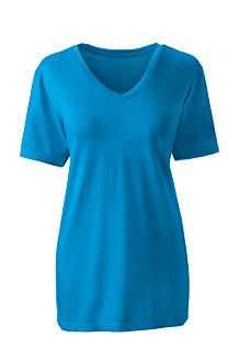 Women's Supima Short Sleeve V-neck T-shirt