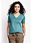 Women's Regular Supima® Short Sleeve V-neck Tee