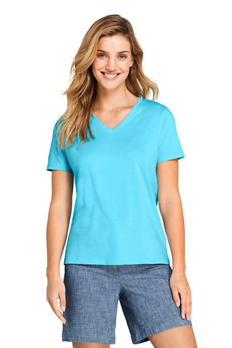 Guitar Chord Cotton Woman V-Neck Short-Sleeved T Shirts Tee Fashion Tops Black