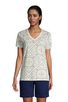 Women's Supima Short Sleeve V-neck T-shirt