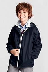 Litte Boys' Plain Packable Navigator Jacket