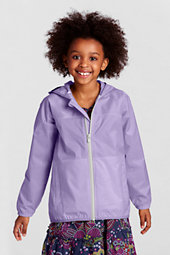 Girls' Navigator® Packable Rain Jacket