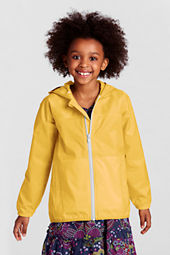 Girls' Packable Navigator Rain Jacket