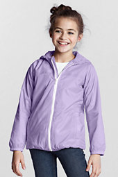 Little Girls' Navigator® Fleece-Lined Rain Jacket