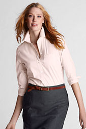 Women's Long Sleeve Perfect Stretch Poplin Shirt