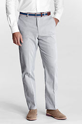 Men's Plain Front Traditional Fit Pincord Trousers