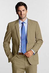Men's Tailored 2-button Poplin Jacket