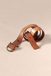 Men's Leather Shackle Belt