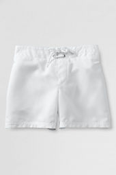 Girls' Solid Woven Swim Shorts