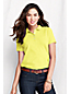 Women's Petite Pique Slim Fit Polo