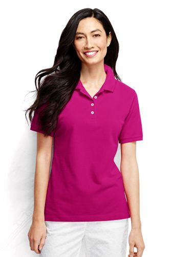 Women's Regular Pique Slim Fit Polo