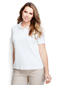 Women's Plus Size Pima Polo Shirt