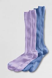 Men's Cotton Rib Over-the-calf Dress Socks (2-pack)