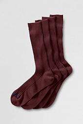 Men's Cotton Rib Dress Socks (2-pack)