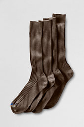 Men's Cotton Rib Dress Socks