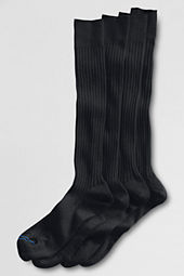 Men's Wool Rib Over-the-calf Dress Socks (2-pack)