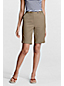 Women's Regular Back-elastic Bermuda Shorts