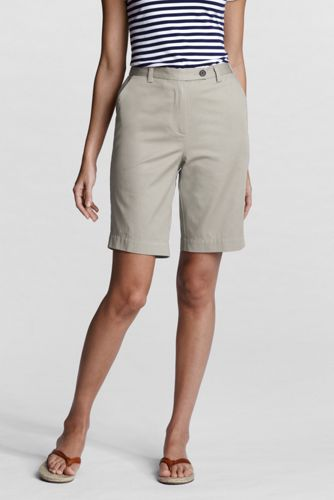 Women's Back-elastic Bermuda Shorts