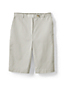 Women's Plus Back-elastic Bermuda Shorts