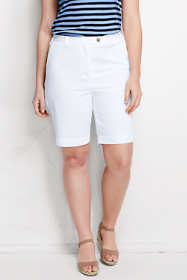 "Women's Plus Size 7 Day 10"" Bermuda Shorts"