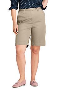 Womens Plus Tie Waist Linen Culottes - 24 - Green Lands End mI9Z8VnKM1