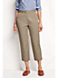 Women's Regular Adjustable-waist Cropped Chinos
