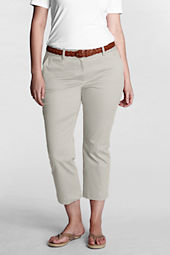 Women's Fit 2 Stretch Chino Demi-Boot Crop Pants