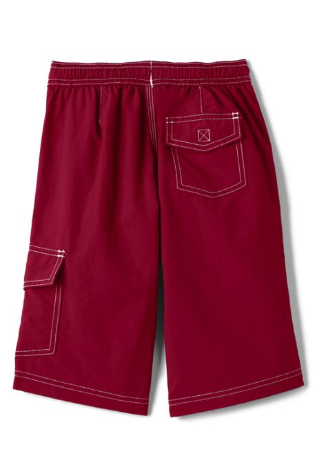 School Uniform Little Boys Solid Swim Board Shorts