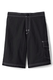 School Uniform Solid Board Shorts