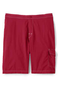 School Uniform Men's Solid Swim Board Shorts